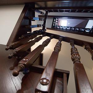 万科-新中式-楼梯