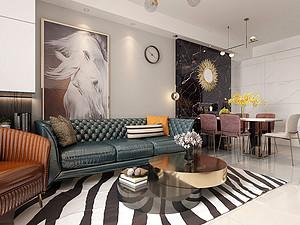 兰州120平米以下普通住宅最新装修案例_兰州简称id平面设计图片