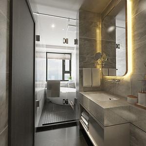 四居室-现代简约-效果图