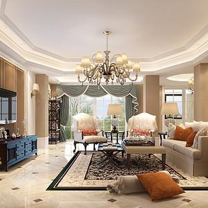 龙城一号200㎡四居室现代奢华风格