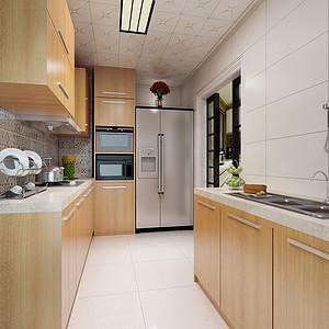 同进君望北欧183㎡厨房装修效果图