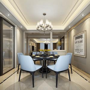 新古典餐厅现代设计风格和当代东方结合