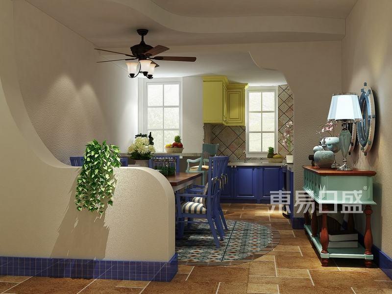 地中海式-餐厅