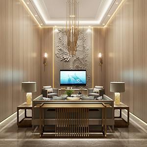 江南里560m²新中式风格效果图