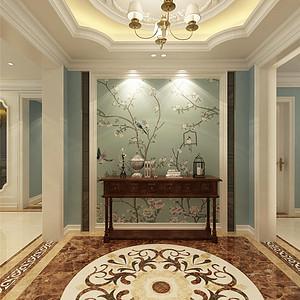旺海公府法式风格门厅装修效果图