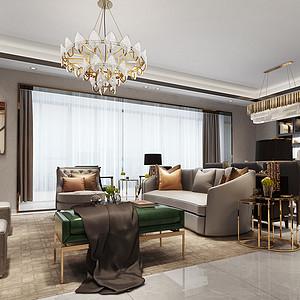 龙湖紫宸170㎡四居室现代简约风格