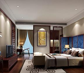 中式-卧室