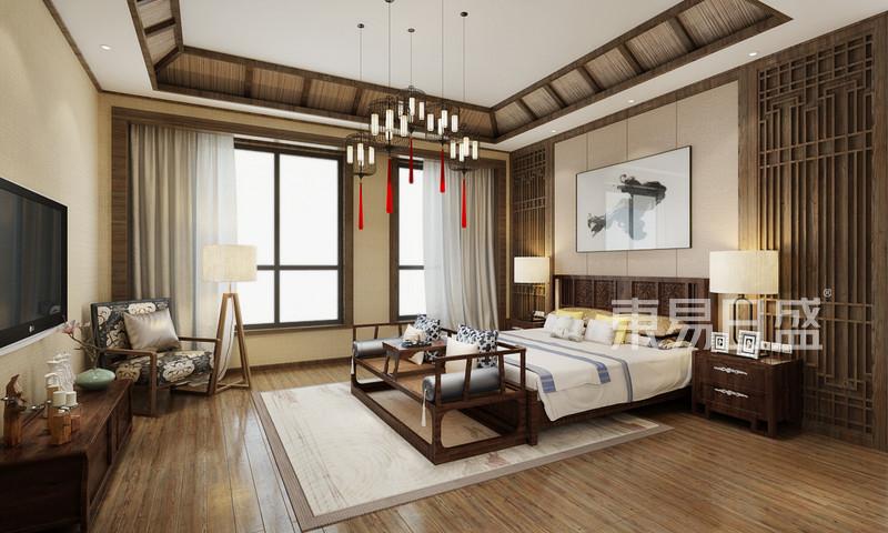新中式 - 卧室新中式装修效果图 三居室