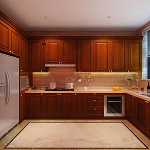 复康路十一号欧式风格厨房装修效果图