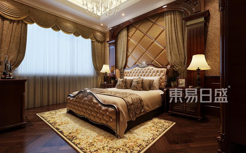 欧式古典 - 伴山湖500平米欧式别墅一层主卧室