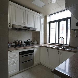 221㎡新中式风格2楼厨房装修效果图