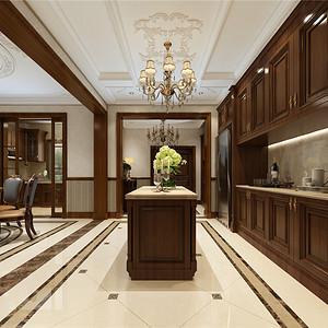 新新逸墅新古典主义厨房装修效果图