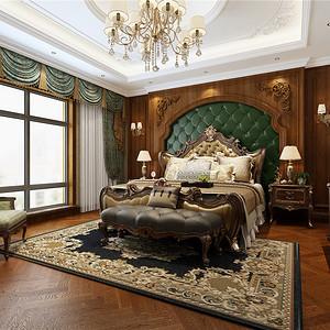 新新逸墅新古典主义卧室装修效果图