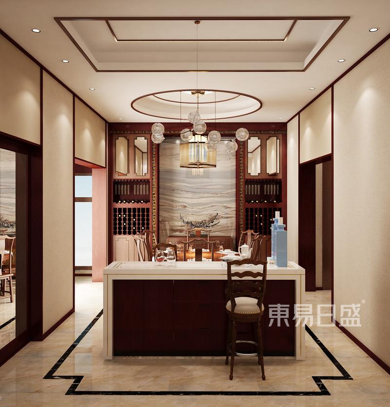 餐厅新中式装修效果图