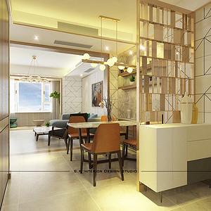 餐厅三居室-装修效果图