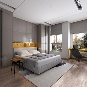 绿城-现代简约-卧室