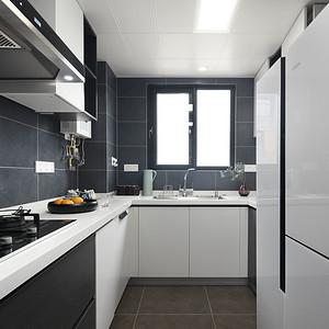 万科润园 现代风格 厨房
