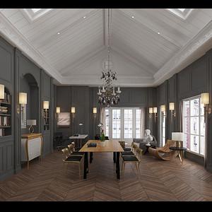 新古典-客厅