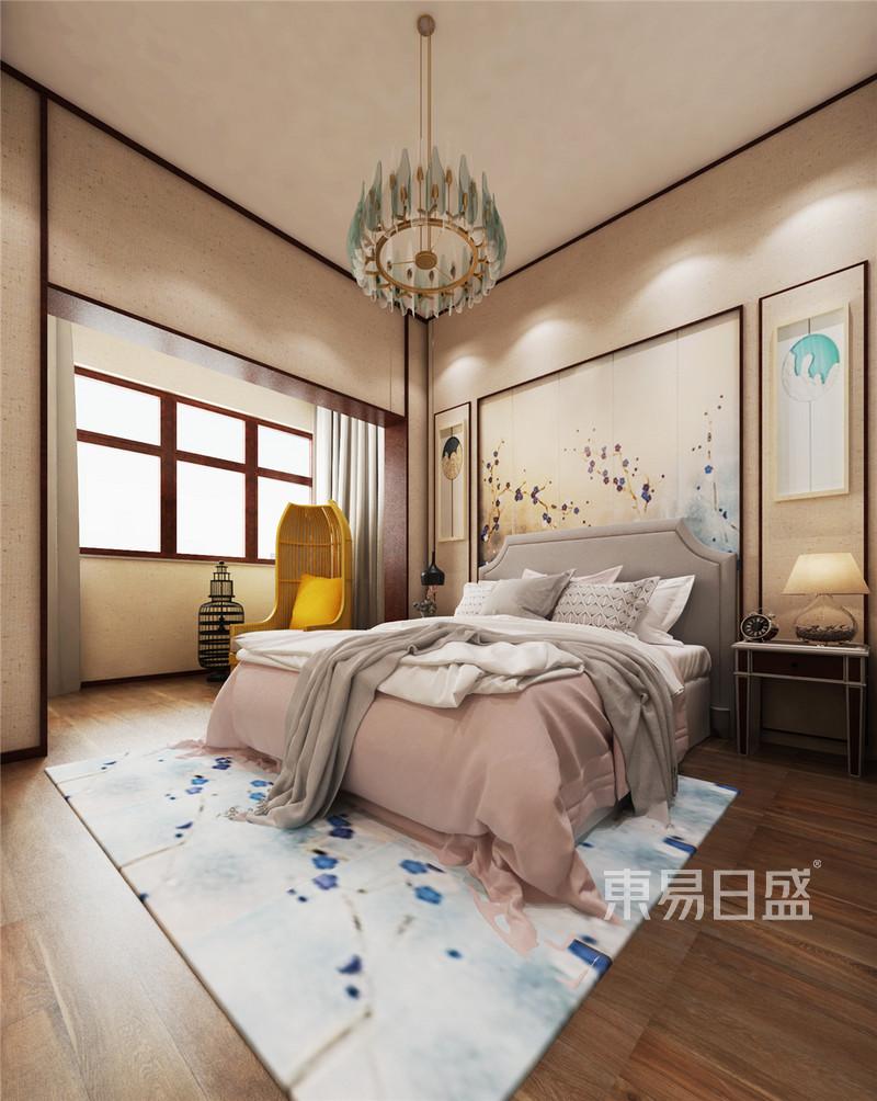 新中式 - 女孩房新中式装修效果图