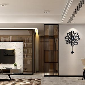 大良招商公园1872公寓170㎡四室装修实景图