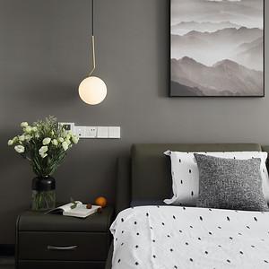 万科润园 现代风格 卧室