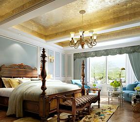 美式-卧室
