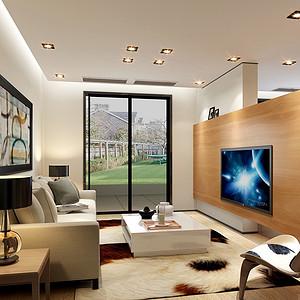 天府欣苑190平米四居室现代风格