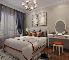 现代简约风格--卧室