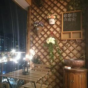 阳台装修效果图 美式乡村风格装修图片