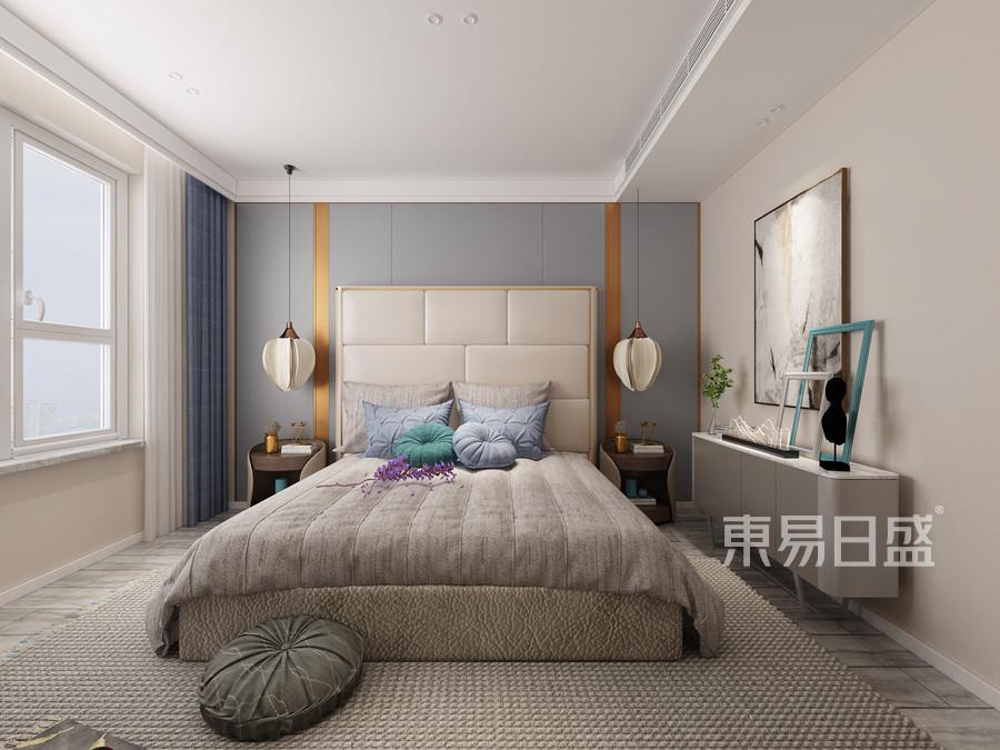 轻奢风格卧室装修效果图效果图_2018装修案例图片