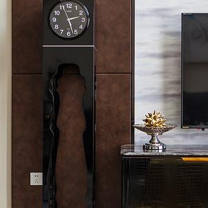 康城国际现代风格客厅细节