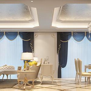西水东 欧式风格 客餐厅