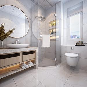 现代风格--卫生间