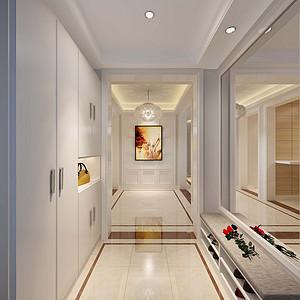 观澜国际 现代简约 门厅装饰