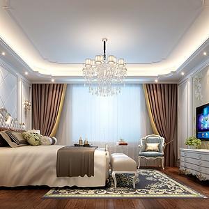 西水东 欧式风格 卧室