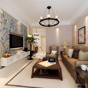 亿城堂庭-美式风格-89平米