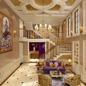 北辰墅院-新古典装修风格-320平米