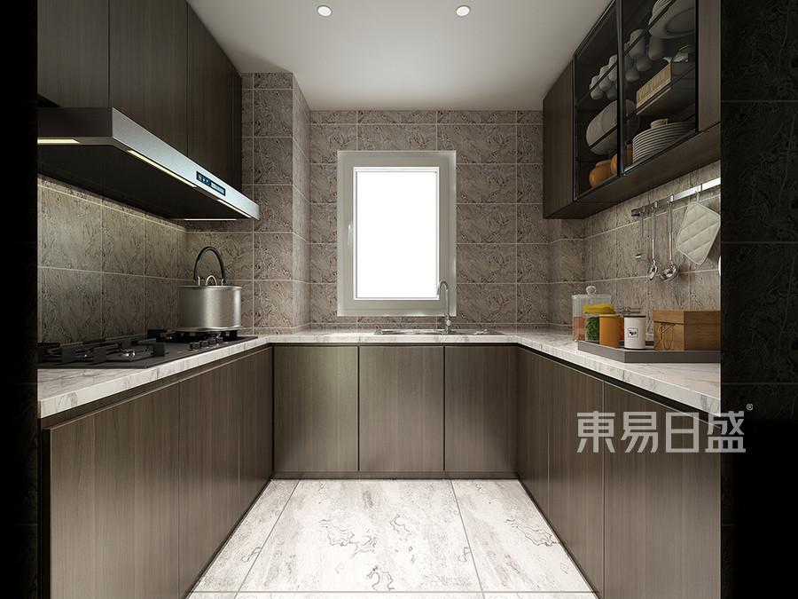 现代轻奢装修风格厨房效果图