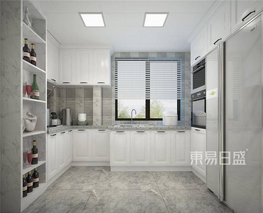普通住宅-欧式古典-厨房效果图