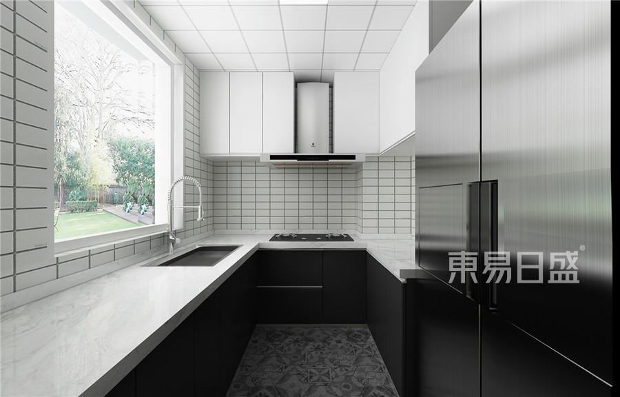 普通住宅-现代前卫-厨房效果图