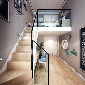 现代风格--楼梯