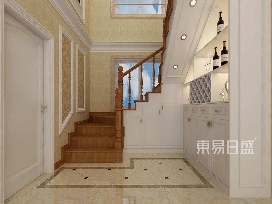 虎门复式-简欧风格楼梯装修效果图