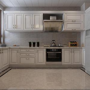 复康路十一号简欧风格厨房装修效果图