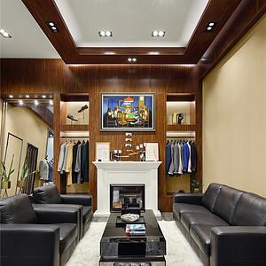 乐基广场服装店90平现代风格