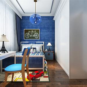 海逸长洲现代简约风格儿童房装修效果图