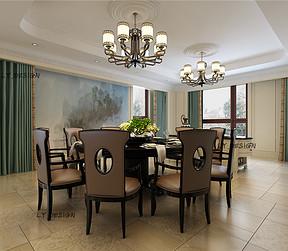 新中式风格--餐厅