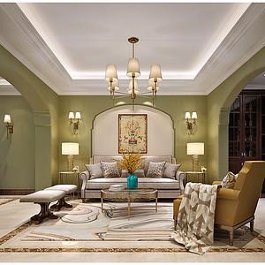 扬州名门一品500平别墅现代简美