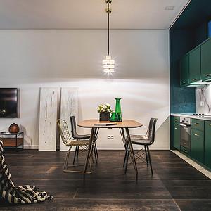 150平+现代装修风格+餐厅