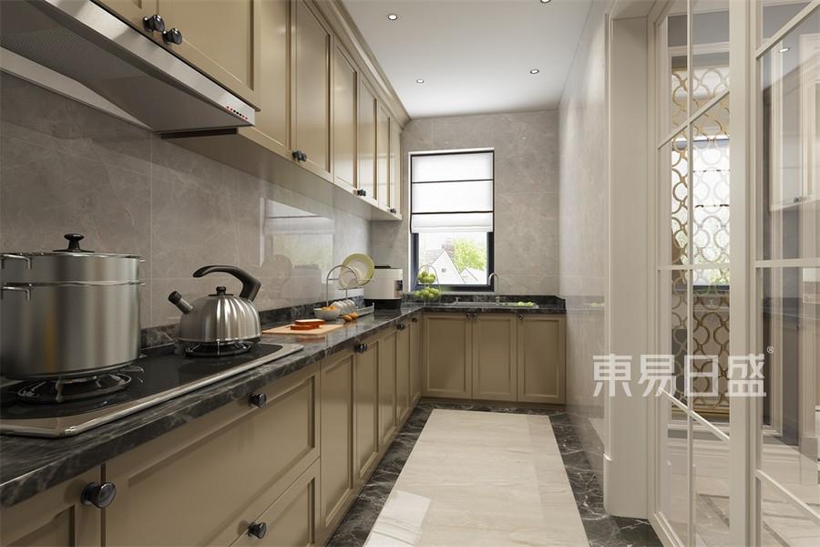 别墅-简美-厨房-效果图