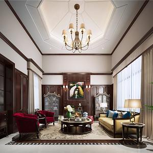 上海洋房-海派风格-600平米别墅